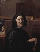 Nicolas Poussin / Self Portrait, 1650