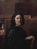 Nicolas Poussin / Self Portrait, 1650