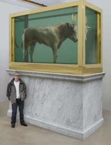 Damien Hirst / The Golden Calf / Copyright Damien Hirst
