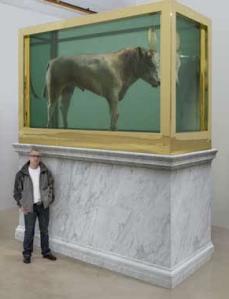 Damien Hirst / The Golden Calf / Copyright Damien Hirst
